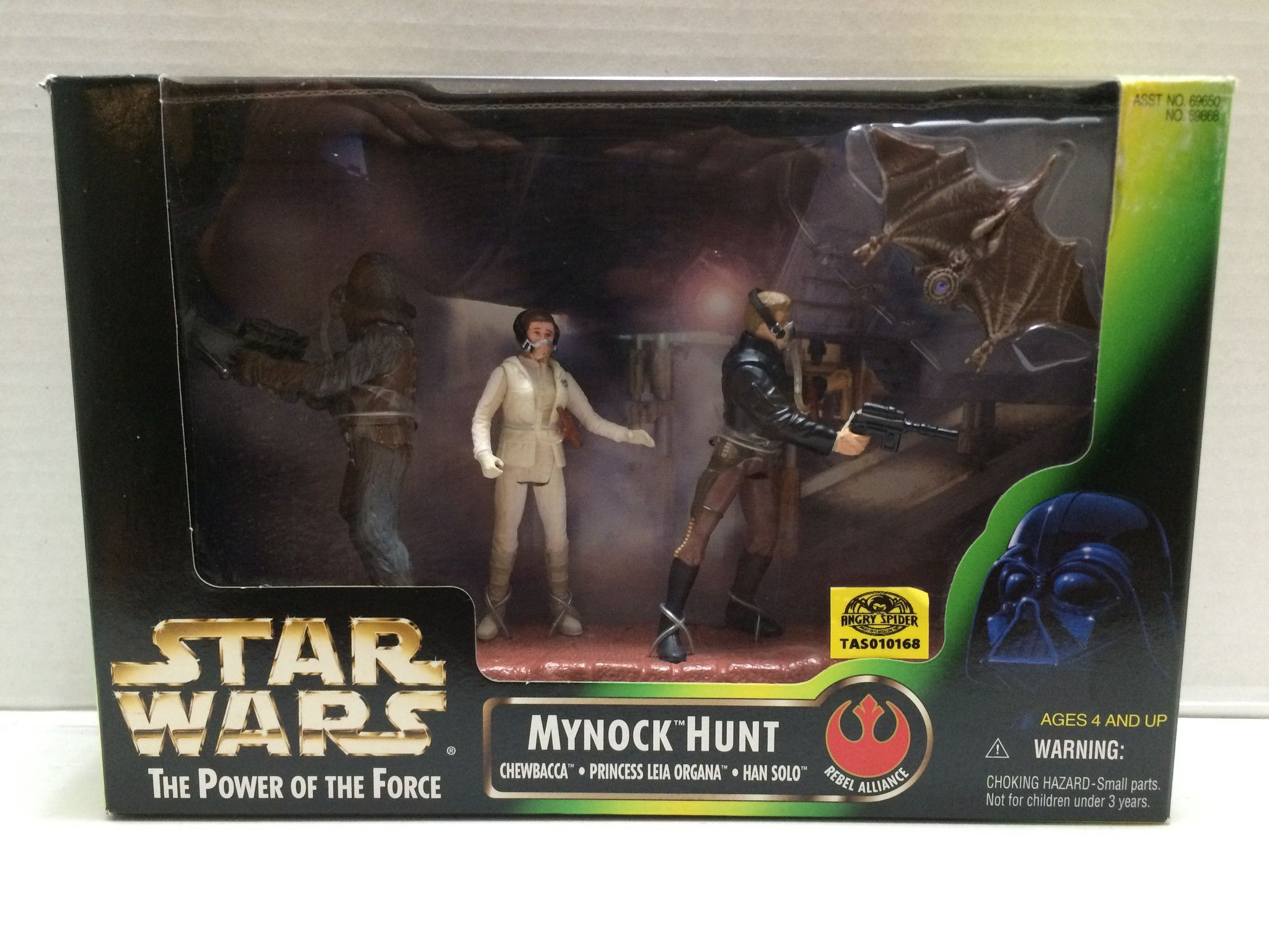 (TAS010168) - 1998 Kenner Hasbro Star Wars - Mynock Hunt Play Set
