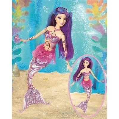 Merissa Doll Barbie Fairytopia Mermaidia Barbie Con Imagenes