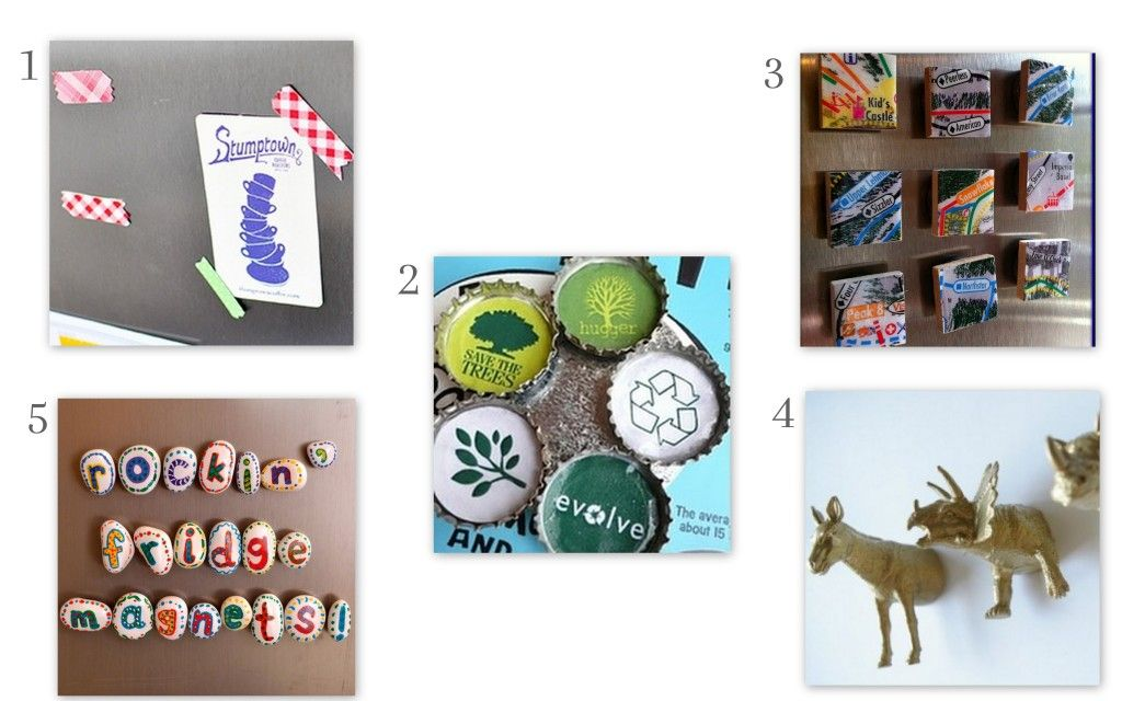 Too Much Time On My Hands - 20 Magnet Projects
