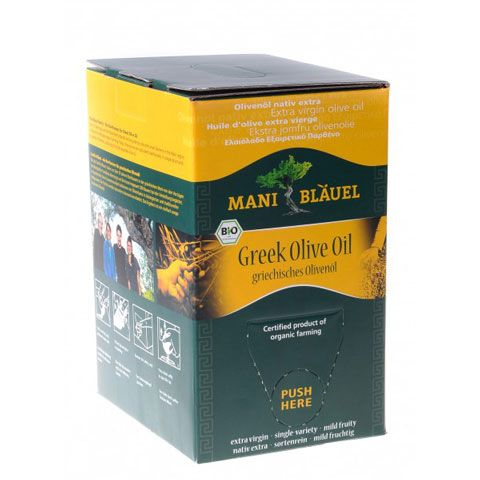 MANI Koroneiki-Olivenöl 3 l (bio) Bag in Box