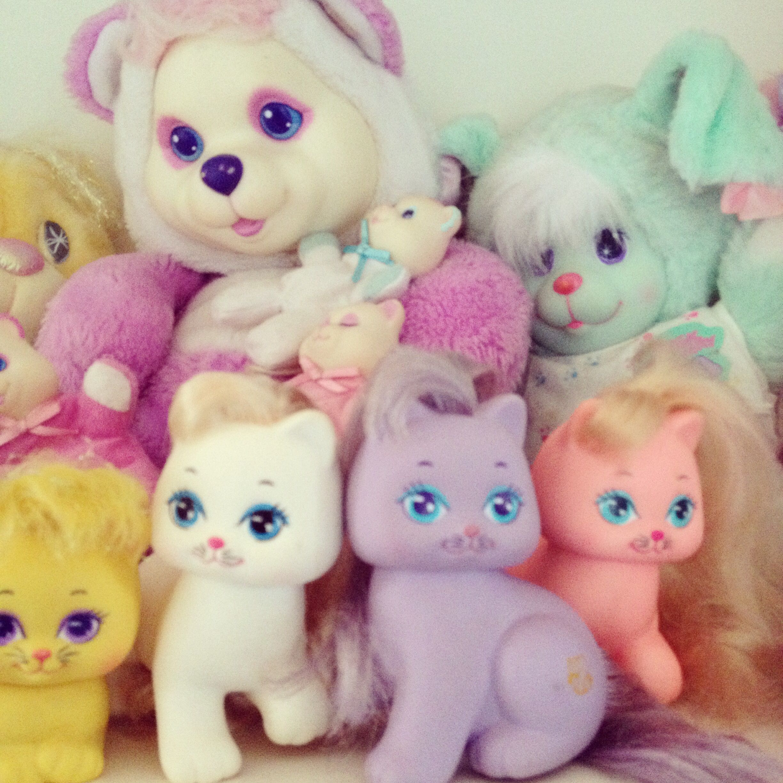 Magic Nursery Pets Pretty Kitties Baby Cub Surprise Vintage 80 S Toys Kawaii