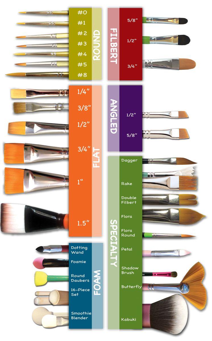 Pack of 30 Royal and Langnickel Round// Flat Taklon Variety Brush Set Gold