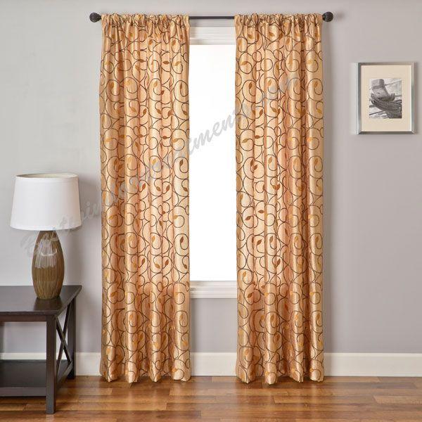 Element Tree Curtain Drapery Panels | Bestwindowtreatments.com ...
