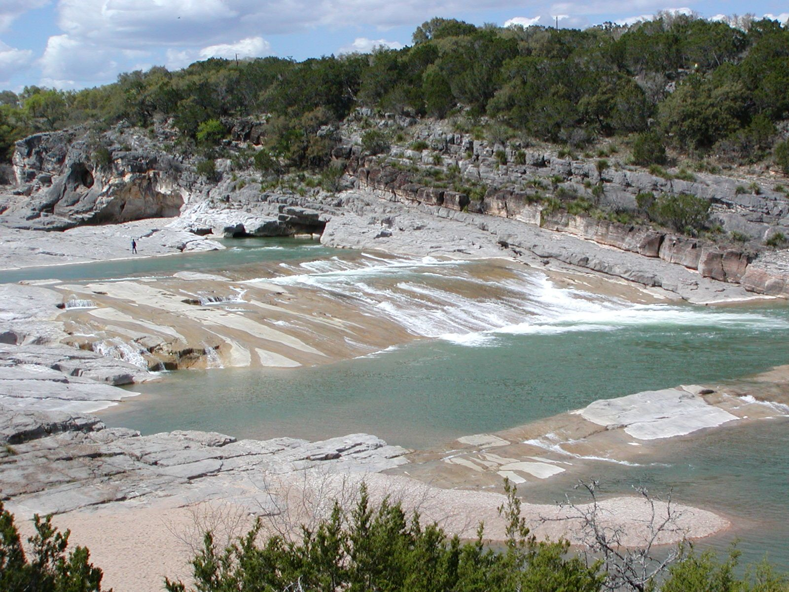 Located On The Pedernales River At The Bridge On Hwy 281 Just N Of Town And Next To The Blanco County Show B Pedernales Falls State Park State Parks Pedernales