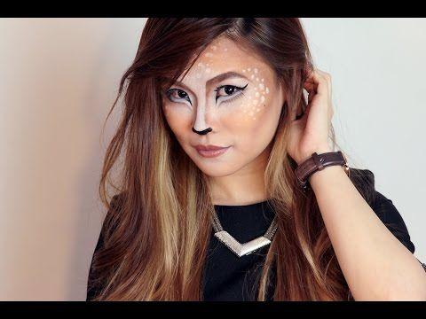 Halloween 2015 makeup Youtube tutorial - fawn/Bambi/deer makeup ...