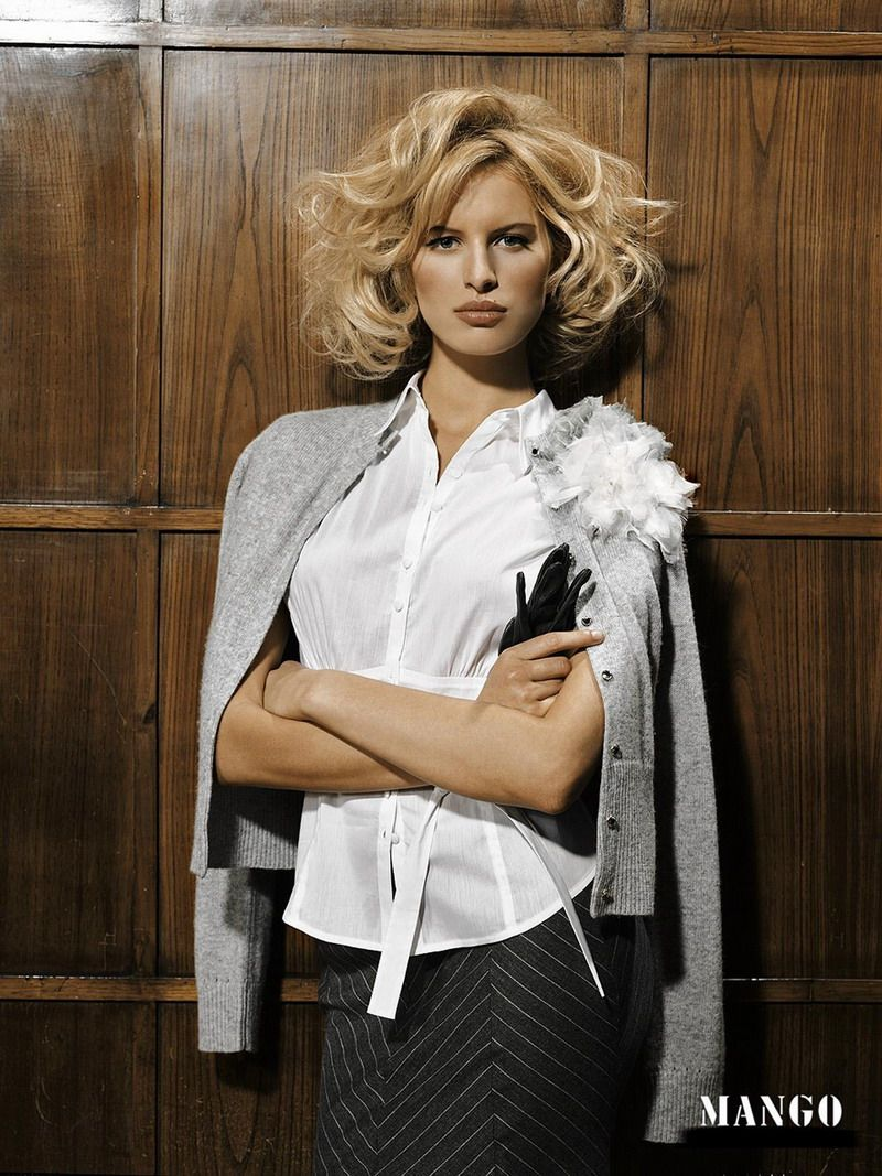 Karolina Kurkova (Mango 2008) - Models Inspiration