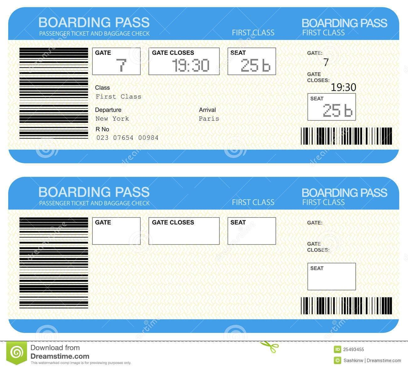 Blank Plane Ticket Clipart Clipart Kid Plane Tickets Travel Tickets Ticket Template