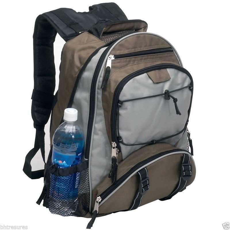 "12"" x 17""Maxam® Backpack extra wide padded shoulders #Maxam #Backpack #Bookbag #School"