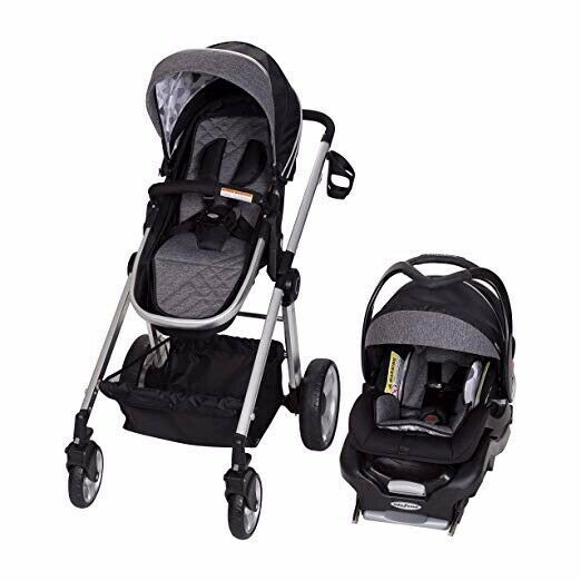 3 In 1 Baby Trend Go Lite Snap Fit Sprout Travel System 5 35 Lbs Black Stroller Blackstroller Strolle Travel System Stroller Baby Trend Stroller Baby Trend