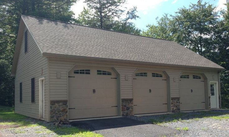 Gallery of Pole Barn Garages  32  39 x 44  39 x 103  39 Garage with  Gallery of Pole Barn Garages  32  39 x 44  39 x 103  39 Garage with stone  Gallery of Pole Barn Garag...
