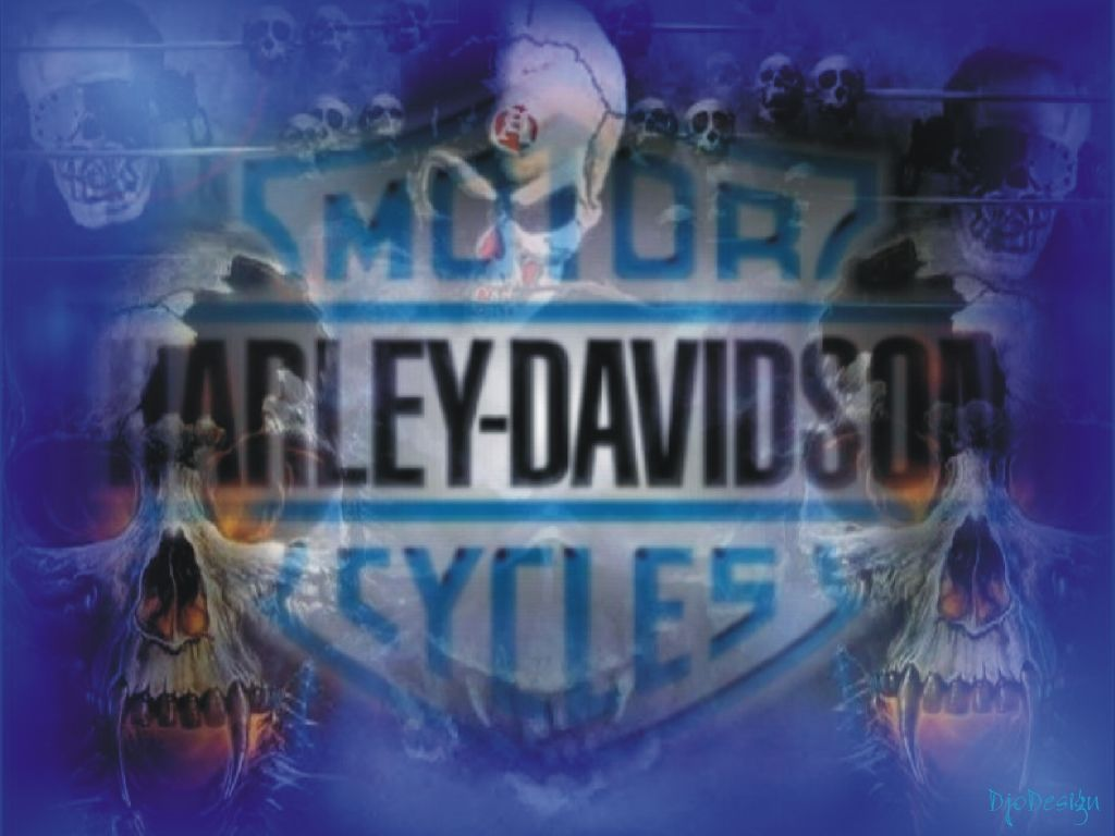 Harley Davidson Wallpapers Screensavers Live Chat Liveperson Skull Wallpaper