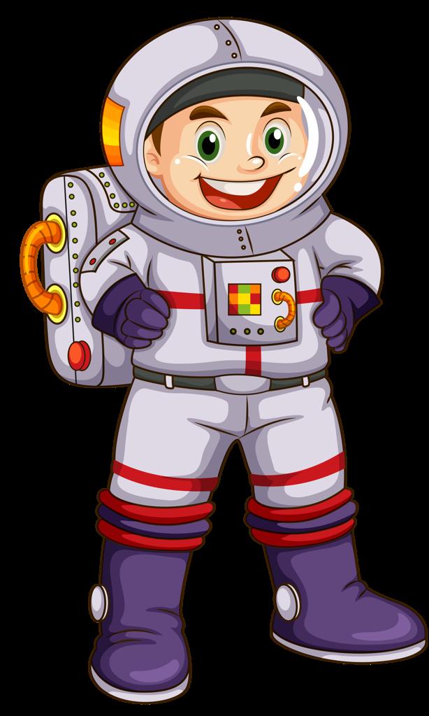 Космонавт картинки для детей на прозрачном фоне, нарисовать открытку