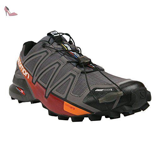 97d3708412a Salomon Speedcross 4 CS - Chaussures de running - gris Modèle 45 1 3 2016