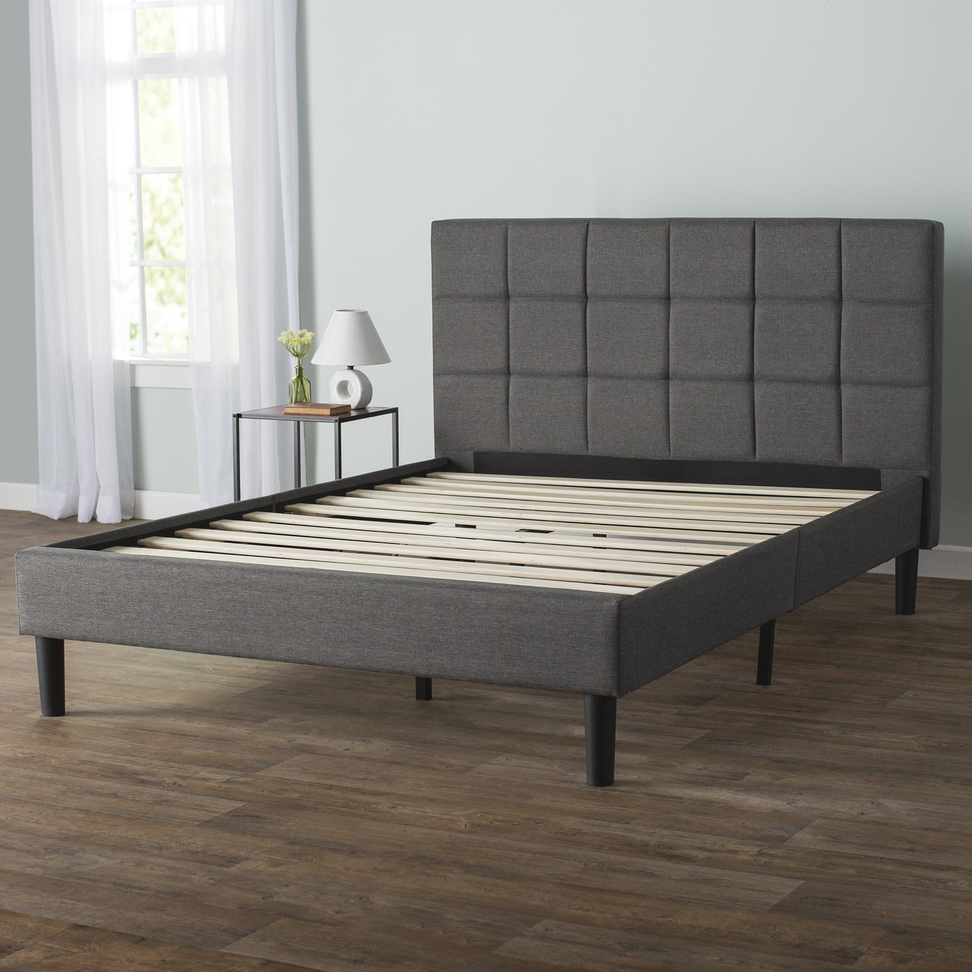 Colby Upholstered Platform Bed Upholstered panel bed