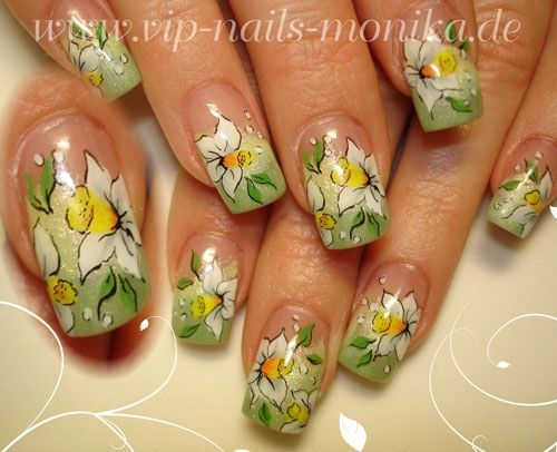 Spring-Flowers - Nail Art Gallery