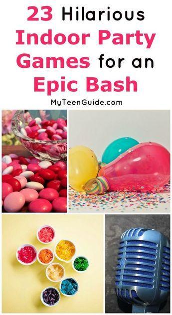 Photo of 23 lustige Indoor-Partyspiele für Teenager, die sie zum ROFL machen