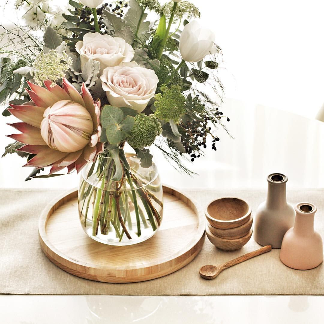 Blooms Native Bunch Table Decor Centrepiece Dining Table Styling