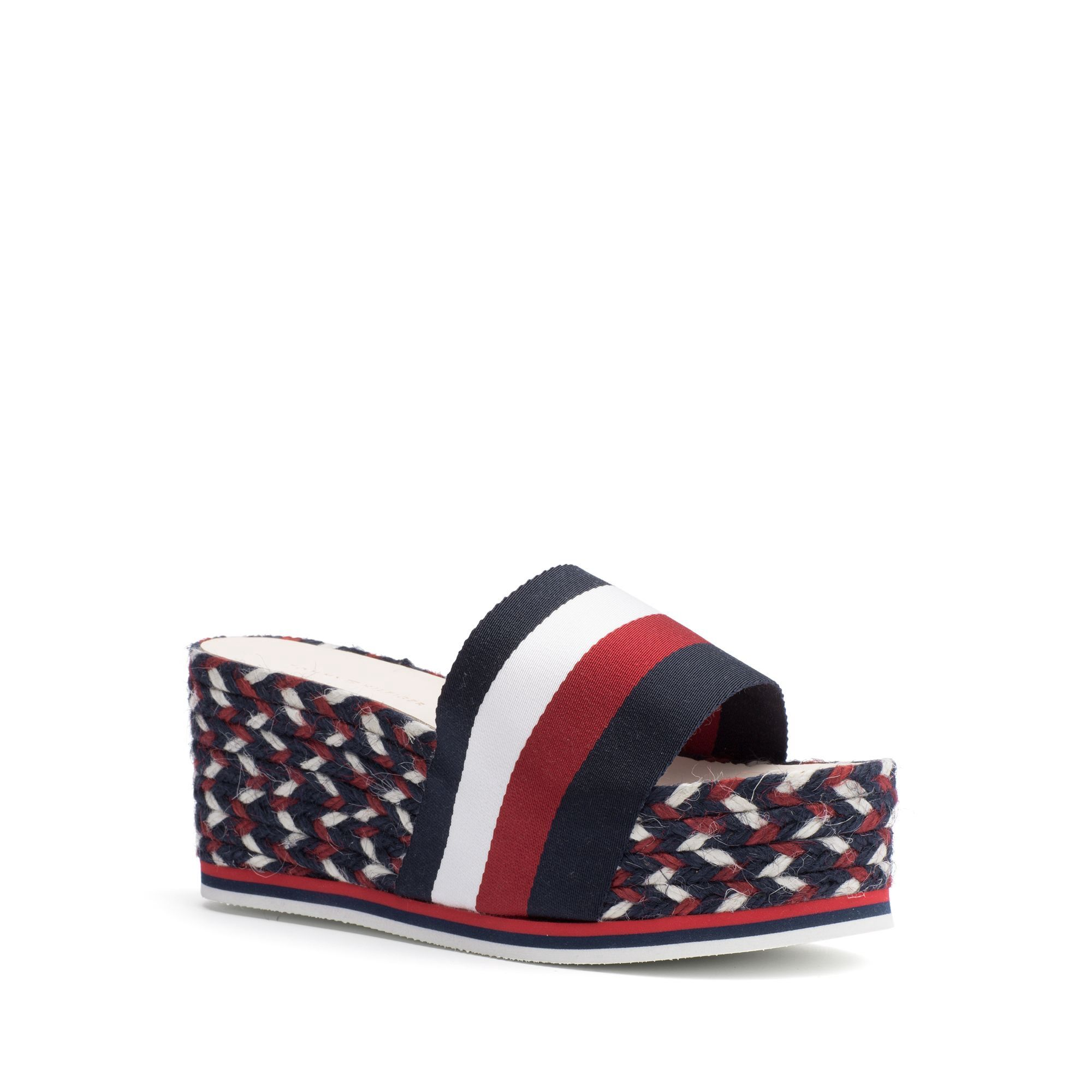 a09308fc137f9 TOMMY HILFIGER ICON ESPADRILLE WEDGE - CORPORATE MULTI.  tommyhilfiger   shoes