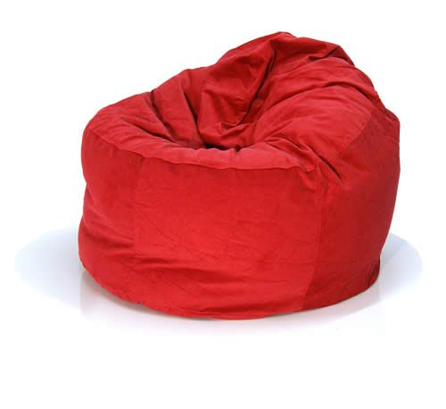 Corduroy Bean Bag Chair Comfy 80cm NEXT DAY DELIVERY