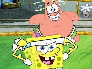 العاب سبونج بوب سكوير بانتس العاب فلاش Spongebob Games Cartoon Mario Characters