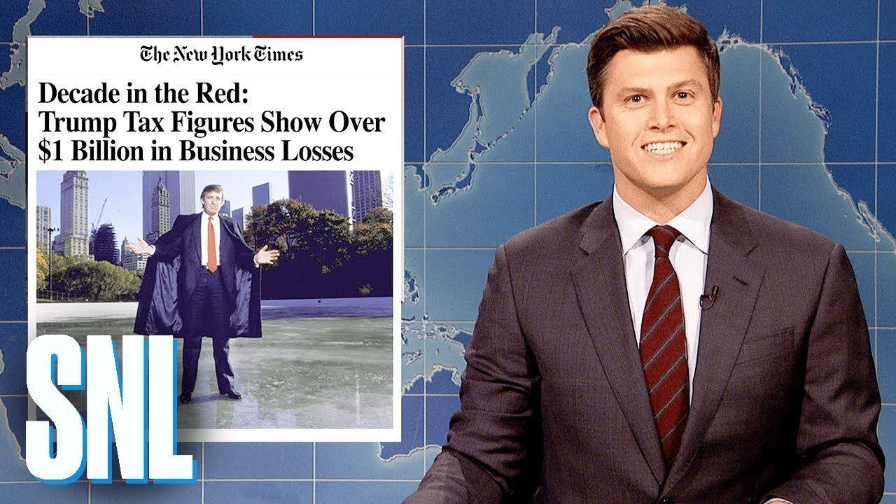 Weekend Update Trump Lost Over 1 Billion Snl Weekend Update Snl Michael Che