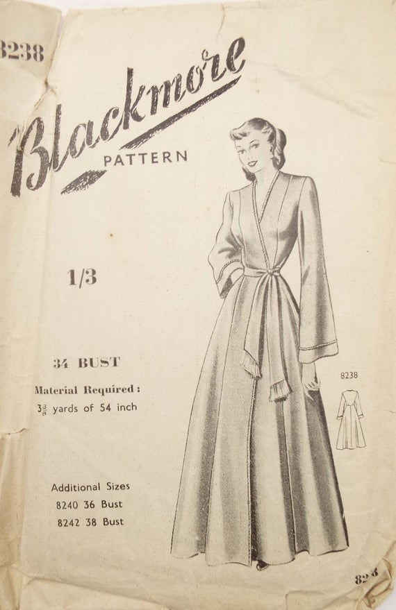 Pin On Vintage House Coats Sewing Patterns