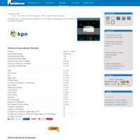 ProviderLijst - KPN Internet Provider informatie ( abonnementen prepaid simonly )