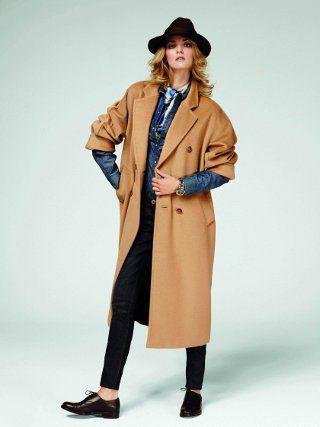 Manteau camel femme max mara