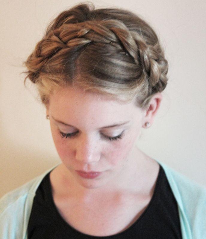 Amelia Lowe Plaits Hairstyles Headband Hairstyles