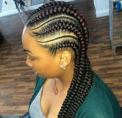 Braided Styles And Easter Hairstyles For African American Easter Hairstyle Africanamer Braided Hairstyles African Braids Hairstyles French Braid Hairstyles