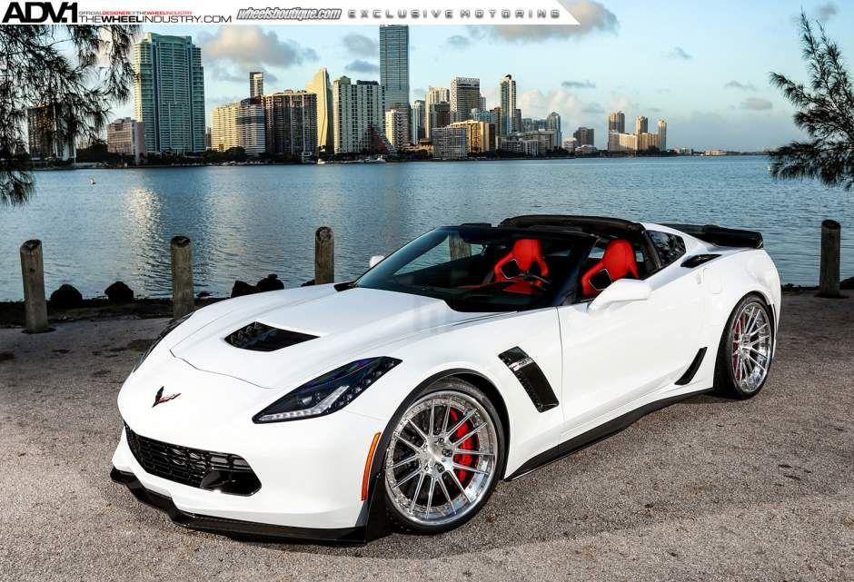 Adv 1 Wheels Media Gallery White Corvette Corvette Z06 Corvette