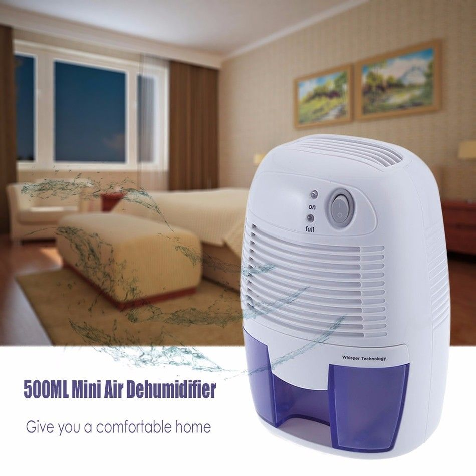 New Mini Air Dehumidifier Moisture Absorber with 20ML Water Tank