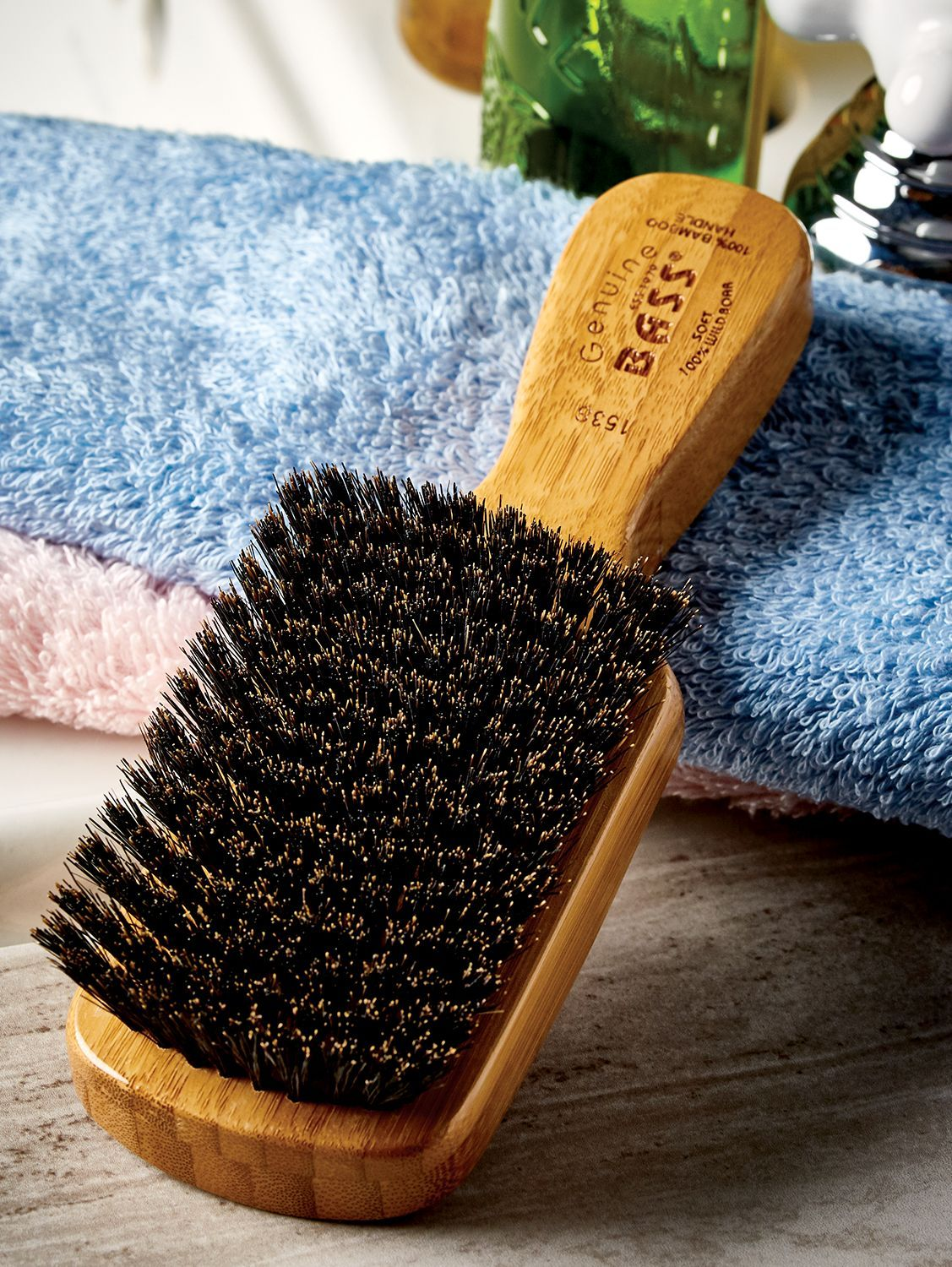 Natural Bristle Makeup Brushes: Bass Boar Bristle Brushes For Men And Women