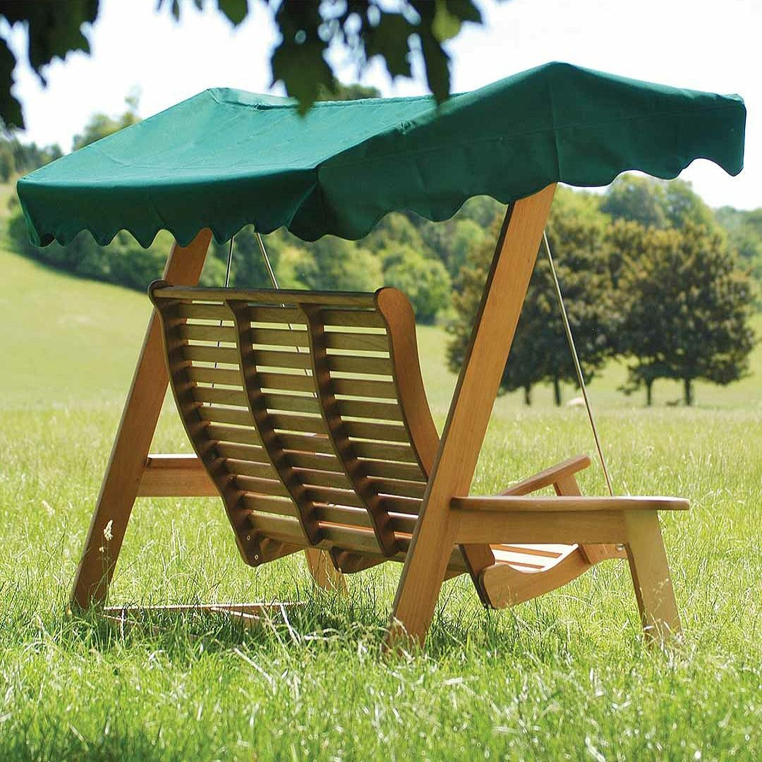 Alexander rose mahogany swing seat with canopy in 2020