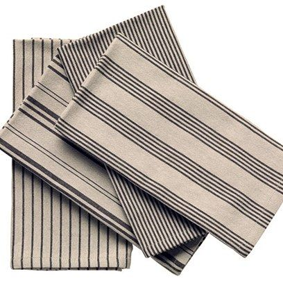 Homework With Trnk 6 Kitchen Essentials Every Man Should Have Napkins Set Kitchen Tea Towels Striped Napkin