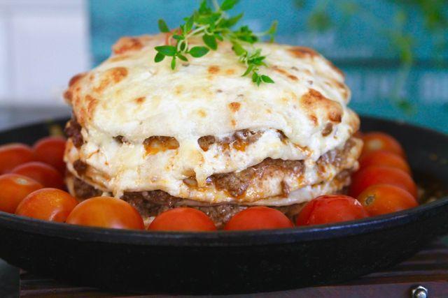 vegetarisk lasagne jennys matblogg