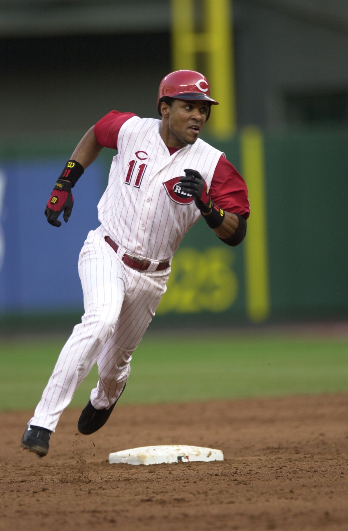 Barry Larkin Cincinnati Reds Barry Larkin Cincinnati Cincinnati Reds Baseball