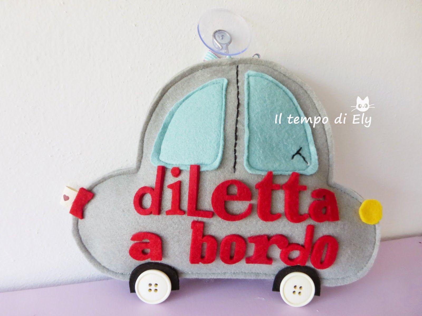 Das Bambini ~ Bimbo a bordo il tempo di ely bimbi pinterest baby crafts