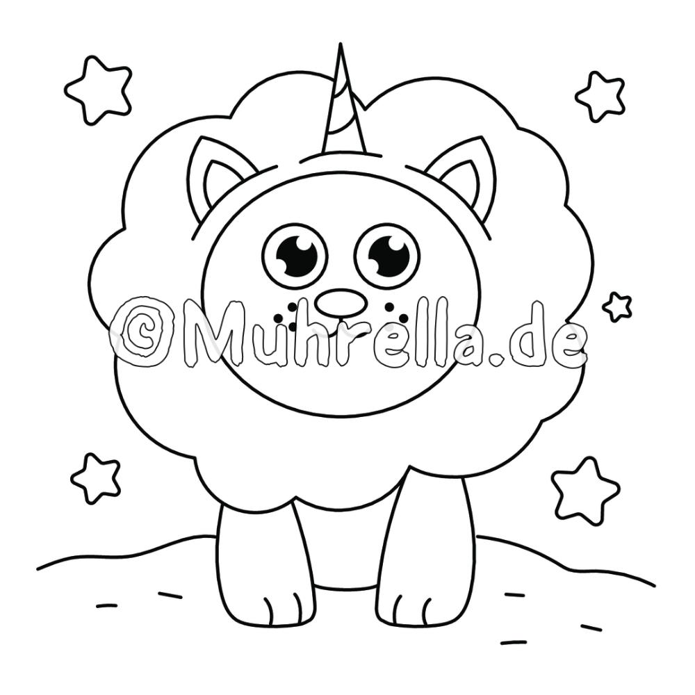 Unicorn Animals Coloring Book Sample Coloring Page Unicorn Animals Coloring Book Sample Coloring Page Colori Coloring Books Animal Coloring Books Square Print