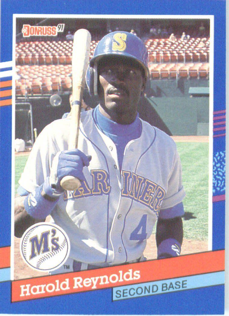 Harold Reynolds Seattle Mariners (Baseball Card) 1991
