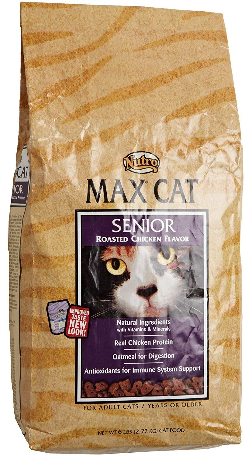 Nutro Dry Cat Food Max Senior 6 Lb Click Image For More Details This Is An Affiliate Link Catlovers Dry Cat Food Wellness Cat Food Healthy Cat Food