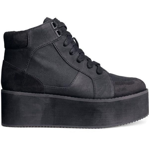 H\u0026M Platform sneakers - Polyvore