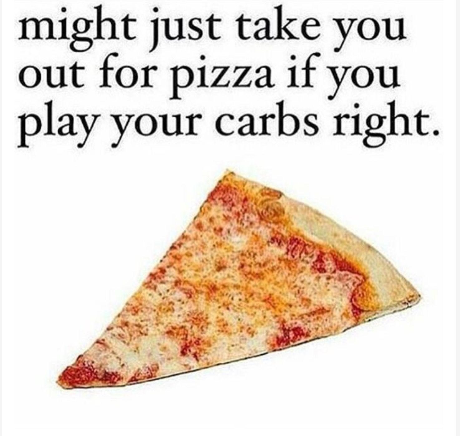 Play your carbs right *wink* #punny