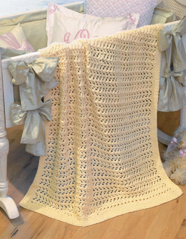 Our Best Knit Baby Afghans Book 2 in 2020   Baby knitting ...