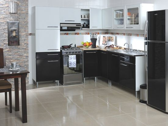 Ba os y cocinas galeria vive tu casa homecenter for Cocinas homecenter