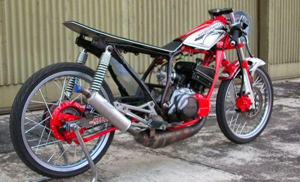 Gambar Modifikasi Yamaha Rx King Drag Racing Dengan Gambar