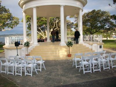 Balmoral beach mosman sydney wedding ceremony decorations by sydney wedding ceremony decorations by fantasy aisles see more junglespirit