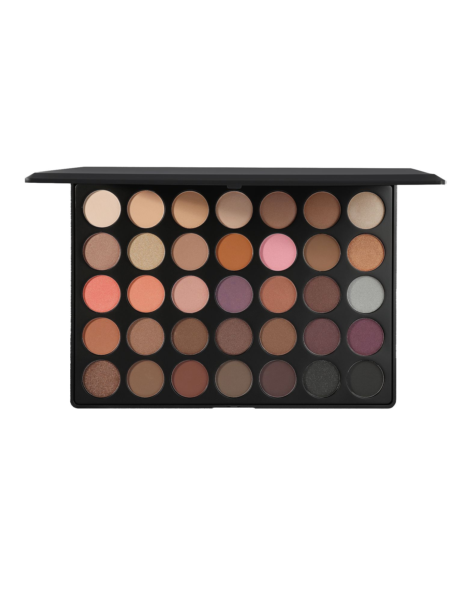 Morphe 35W Warm Eyeshadow Palette Best matte eyeshadow