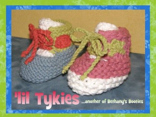 lil Tykies: Loom Knitting Pattern