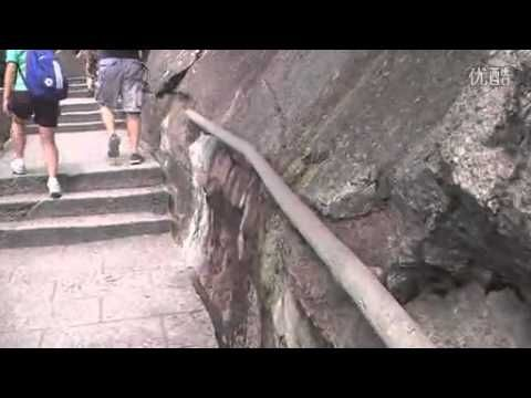 Video 1426 Huangshan scenery video guides peak before the letter of